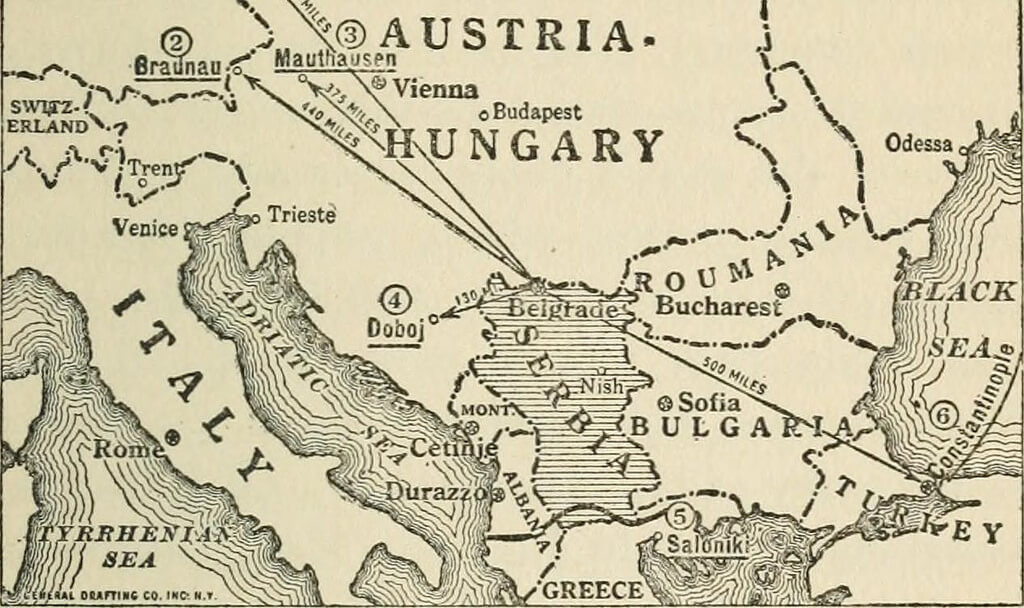 From 'German plans for the next war' (1918)