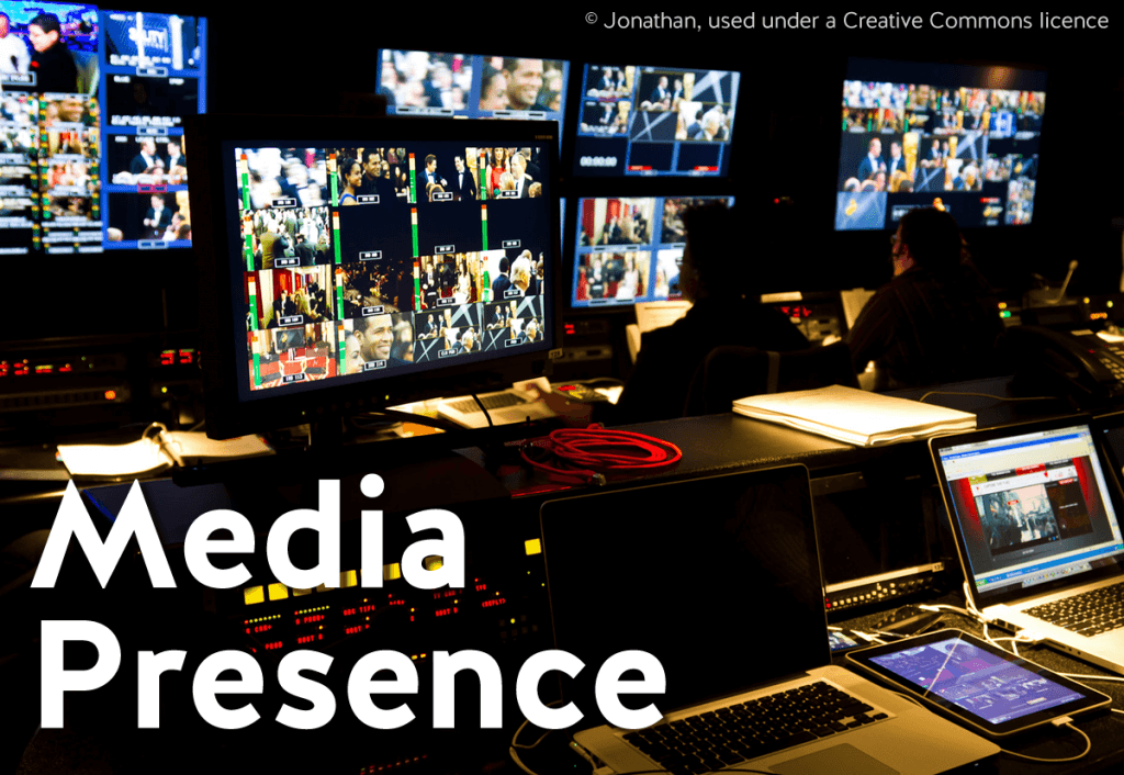 Media presence articles and resources
