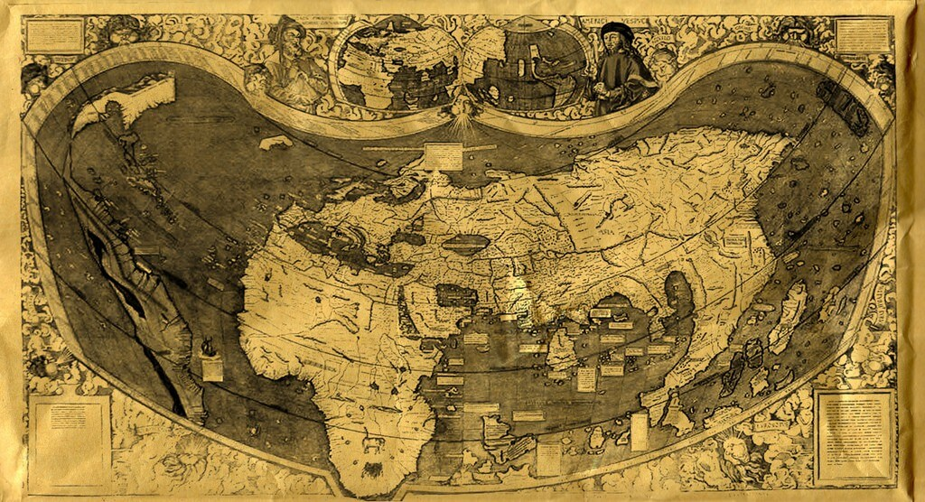 Old Map By adamned.age / H.Adam; Used under a CC-BY-NC-2.0 licence